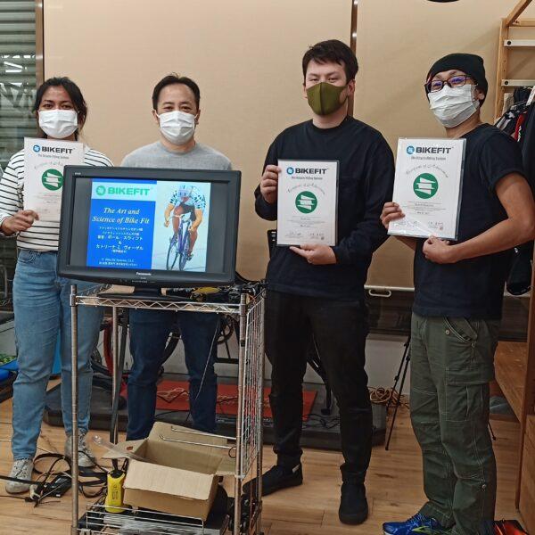 2021年5月27日 BIKEFIT Level1 講習会報告 スポーツバイクファクトリーふじみ野スズキ